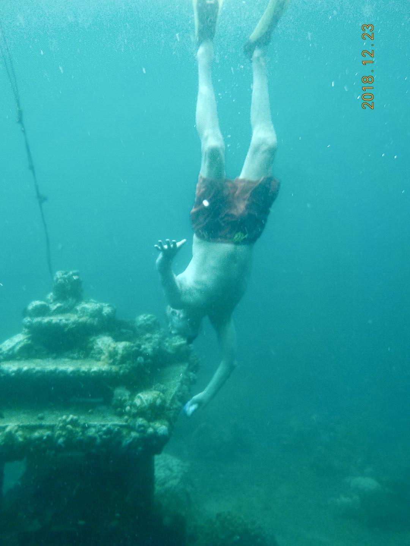 Amed posta apukám úszik le