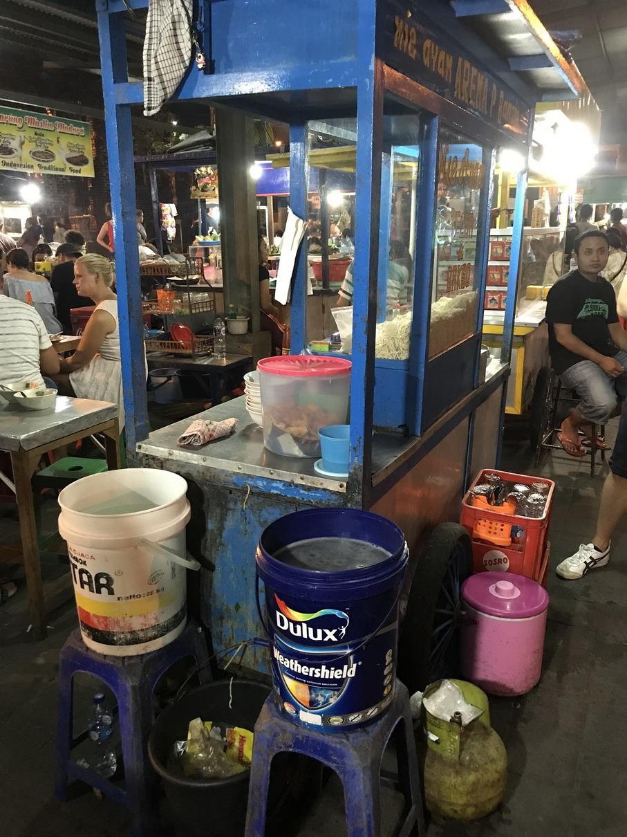 Bali mosogató festékes köcsögök