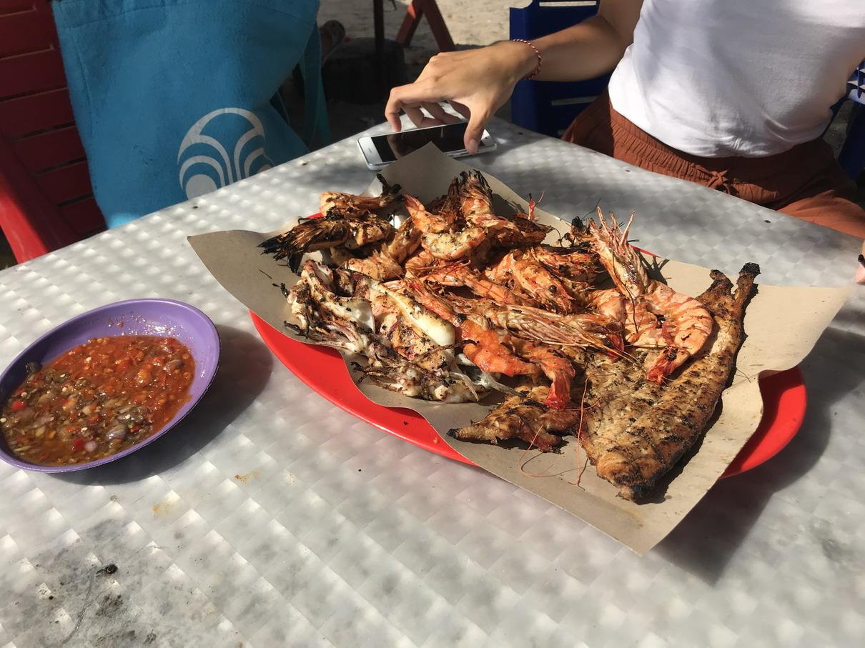 Bali halász ladikok Jimbaran