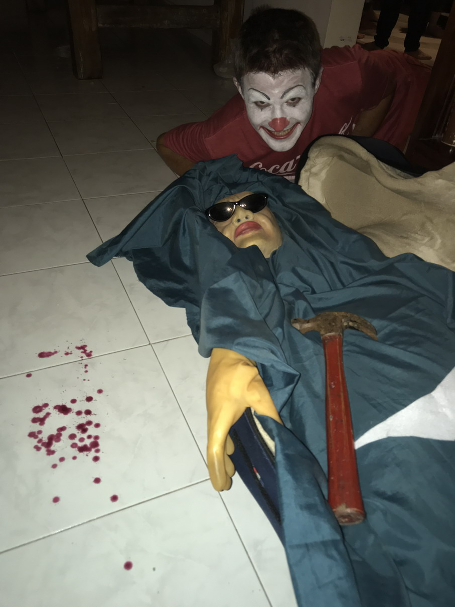 Halloween jelmez Bali 4