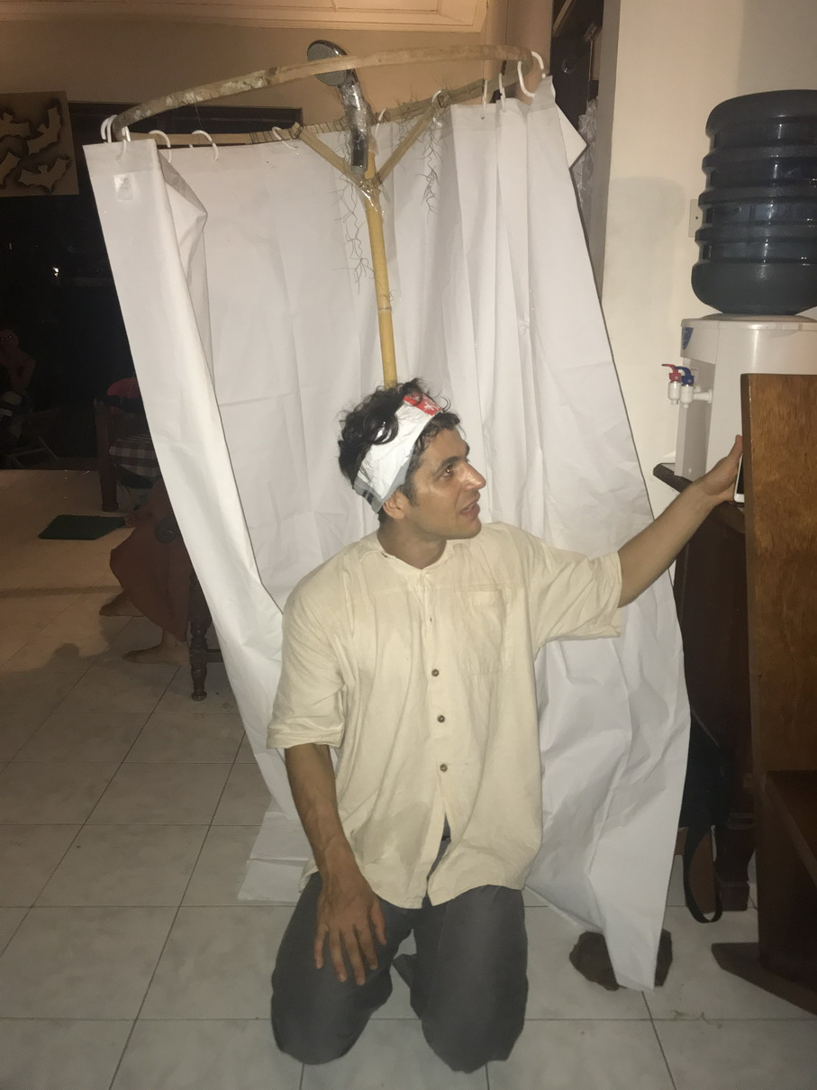 Halloween jelmez Bali 3