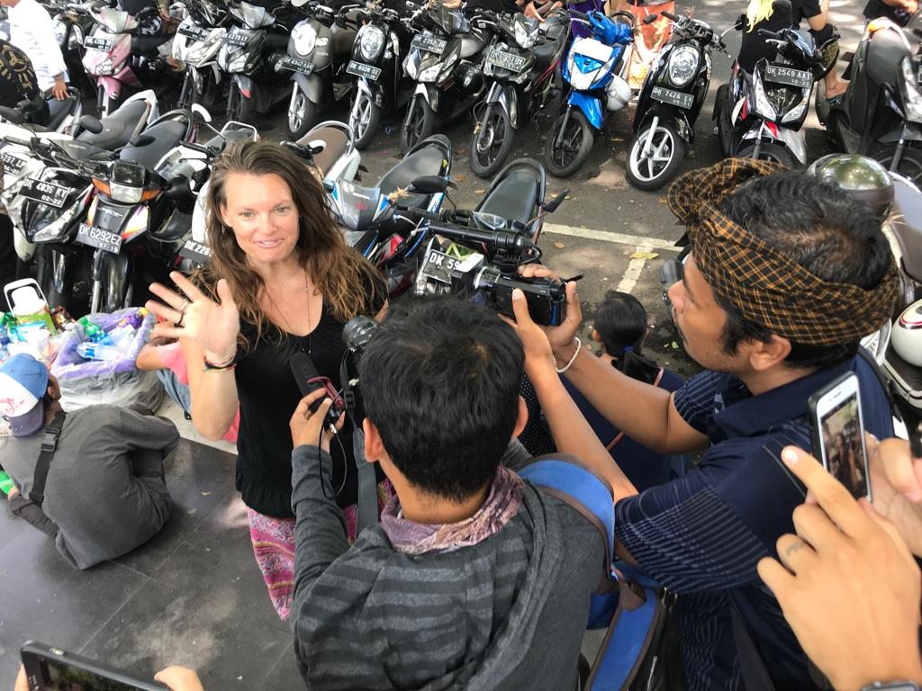 Dia report Bali