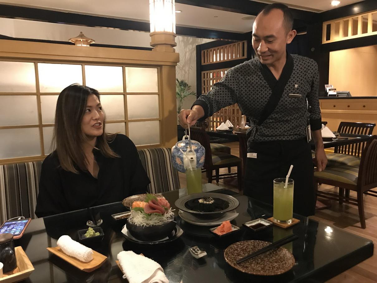 Marriott japán étterem