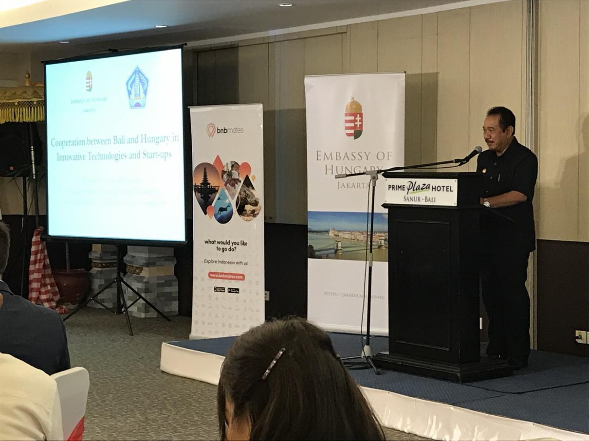 Bali kormányzó helyettes beszéde