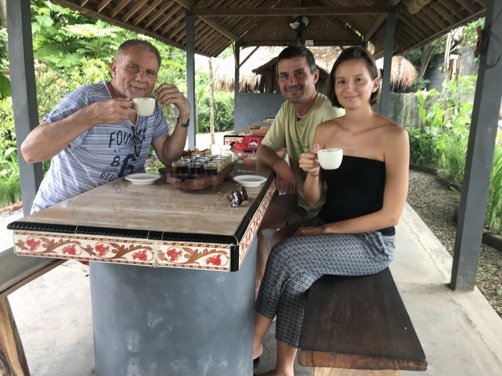 Bali Luwak kávé farm