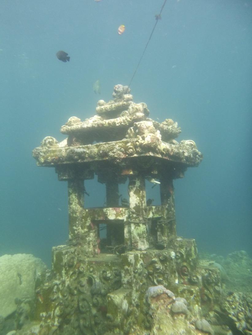 Amed vízalatti posta - Bali